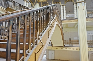 Treppen, Geländer