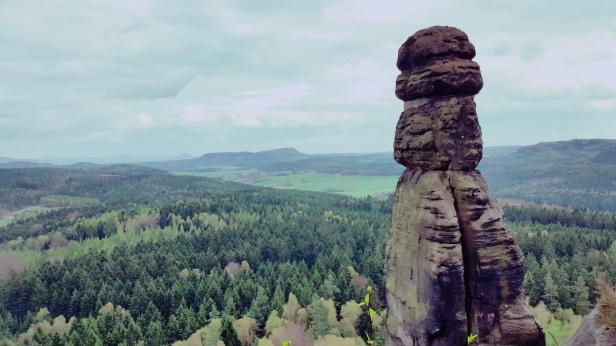 Die Barbarine, das Symbol der Sächsischen Schweiz