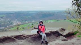 Eine der vielen Aussichten rund um den Berg