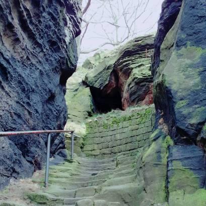 Die mystische Treppe