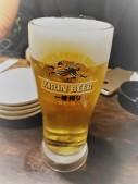 Ein japanisches Bier für Freundin Nr. 1