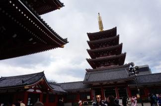 Die Pagode des Tempels
