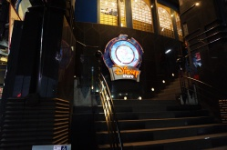 Der Disney-Store von außen...