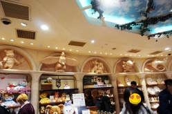 Im Inneren des Disney-Stores.