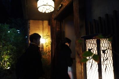 Der Eingang des Izakaya