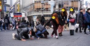 Der mutige Japaner ;)