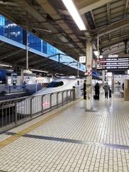 Da steht ein Shinkansen!