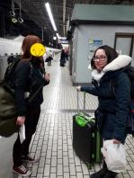 Unsere ersten Schritte in Kyoto!