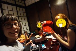 Wir. Glücklich. In Kyoto.
