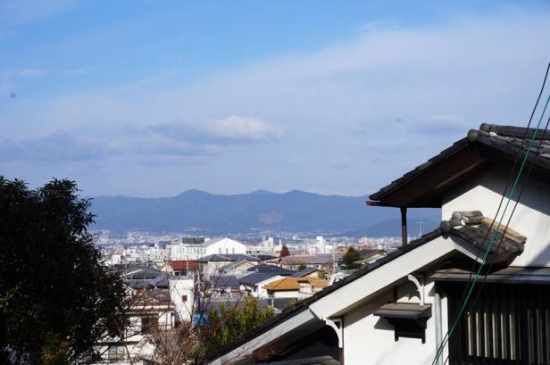 Ausblick vom Berg vor unserer Ferienwohnung