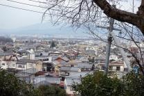 Unser Blick über Kyoto an diesem Morgen