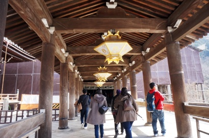 Eingang des Kiyomizudera