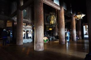 Altar in der Haupthalle