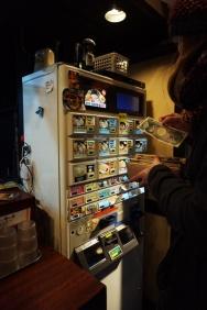 Automat zum Bestellen im Restaurant
