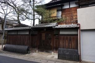Ein japanisches Haus, wie aus dem Bilderbuch