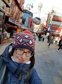 Ich mitten in Shinsekai