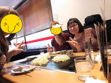 Und los geht´s mit dem Okonomiyaki!