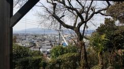 Letzter Ausblick über Kyoto