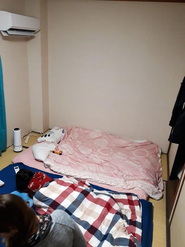 Unser Zimmer in Fukuoka