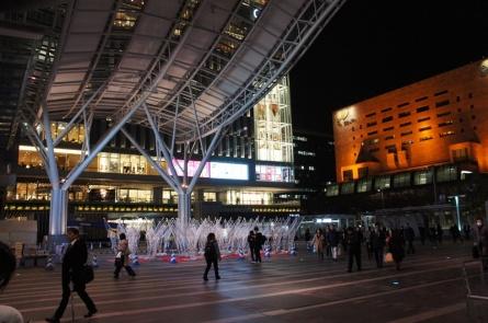 Bahnhof in Fukuoka