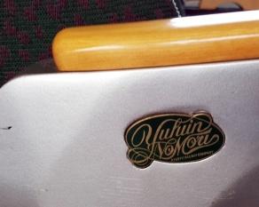 Logo des Yufuin no Mori am Sitz.