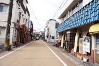 Straße in Yufuin