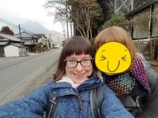 Glückseligkeit nach dem Onsen-Besuch (mit superweichen Haaren)